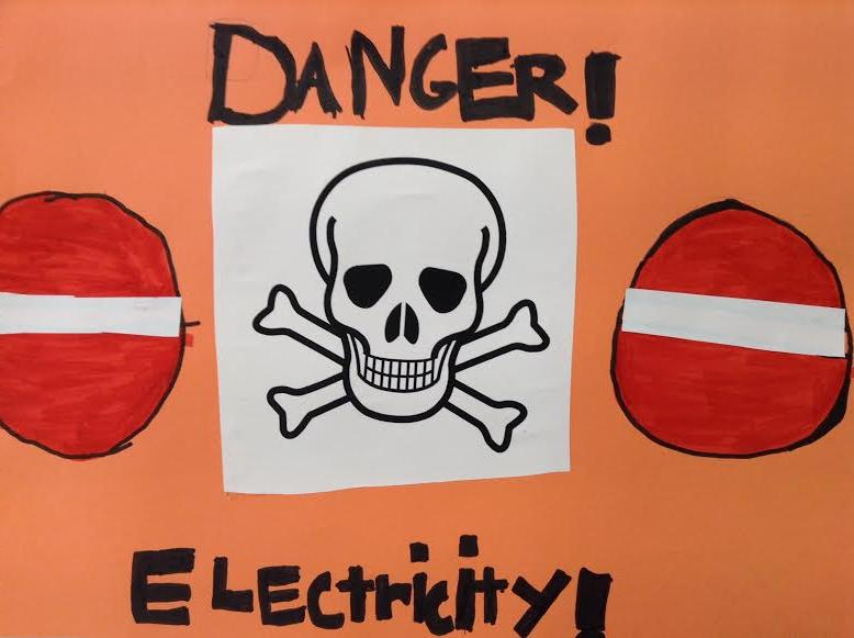Les dangers de l lectricit la classe de monsieur k b for Les dangers de l electricite