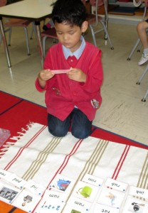 Reading 3-letter phonetic words